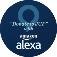 Donate to JUF With Alexa
