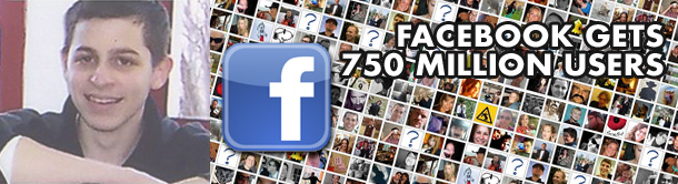 Facebook gets 750 million users
