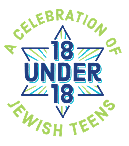 A Celebration of 18 Under 18 Jewish Teens button