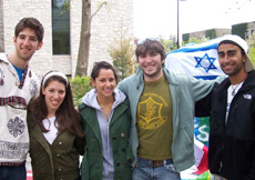 Hillel Students Photo
