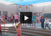 Whip and Nae Nae with the Kids in Kiryat Gat