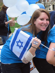 Celebrating Israel on the Quad