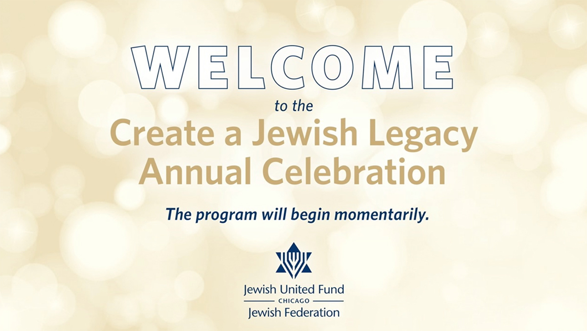 Create a Jewish Legacy 2020 Annual Celebration