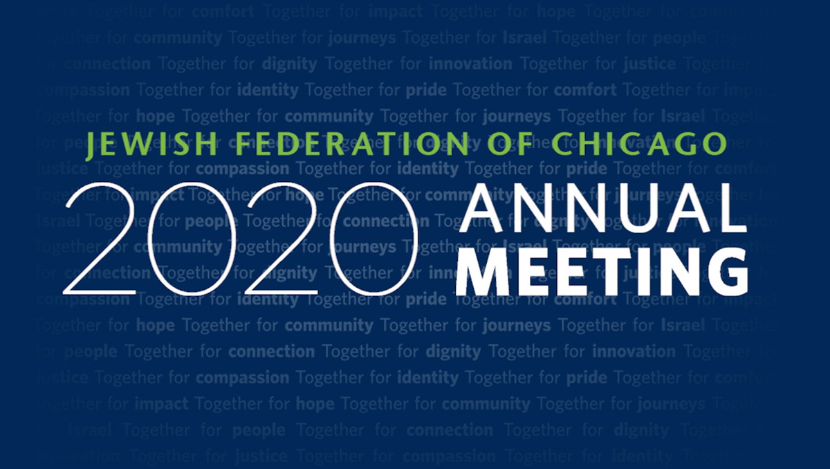 2020 Jewish Federation Annual Meeting