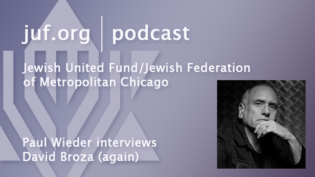 Paul Wieder interviews David Broza again