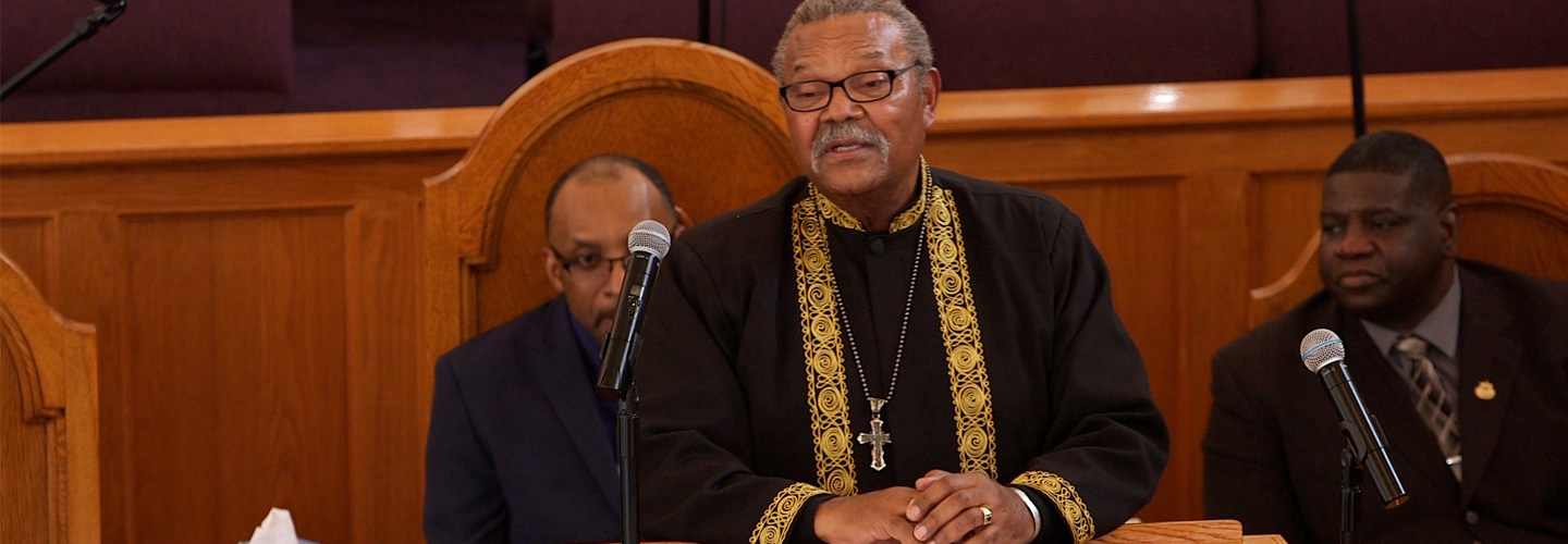 Rev. Dr. B. Herbert Martin Sr. speaks at MLK Day 2018