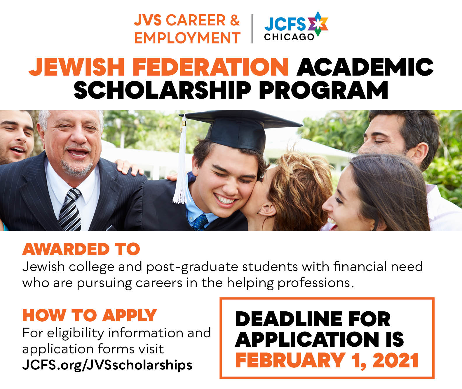 JCFS Chicago JVS Scholarships