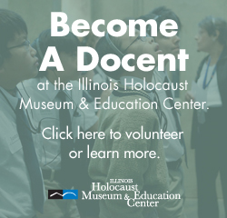 Illinois Holocaust Museum Become a Docent