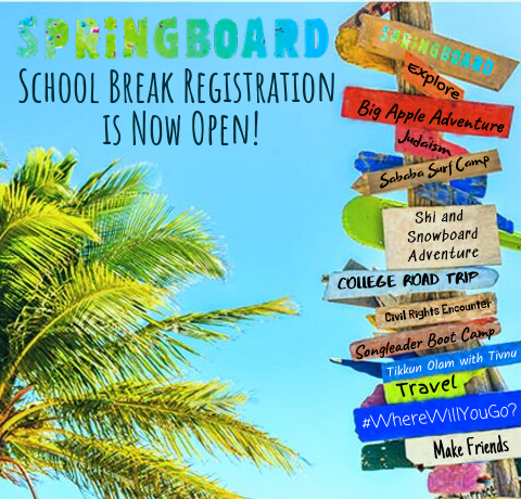 School Break Registration