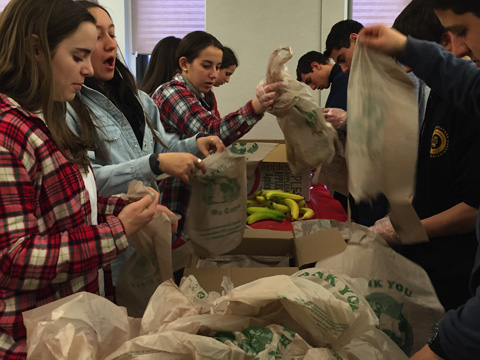 Chicago-Teens_Food-Bank-Line
