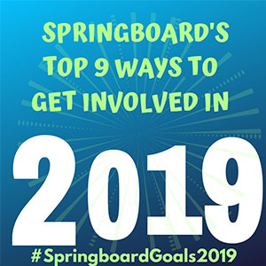 Top 9 ways to get involved in 2019