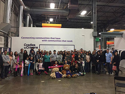 Cradles to Crayons Group Photo