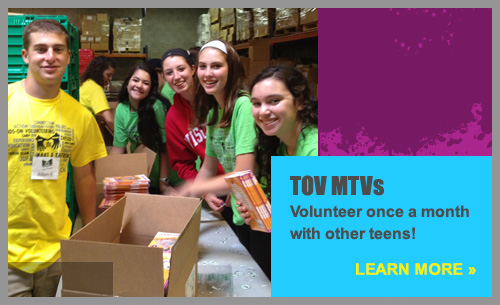 Volunteer with TOV MTVs!