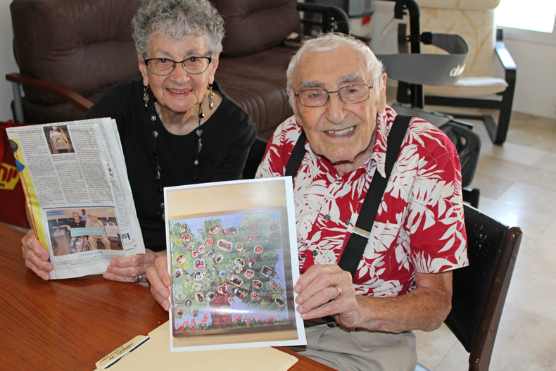 Norman and Doris Levitz move 'home' to Israel photo