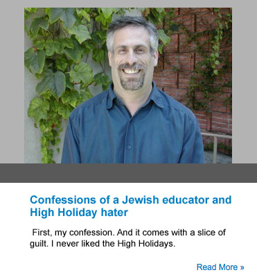 Confessions high holidays