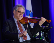 Itzhak Perlman at Spring Event