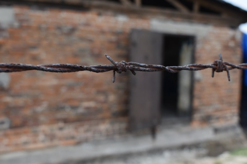 Majdanek Barbed Wire 790p image