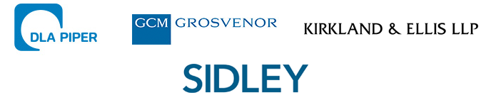 DLA Piper, GCM Gosvenor, Kirkland and Ellis LLP, Sidley