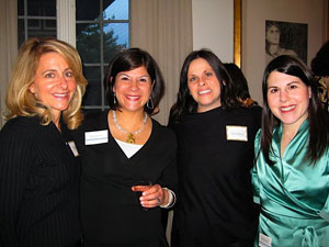 Julie Kadish, Miriam Lichstein, Tristin Goldberg, and Pam Greenfield