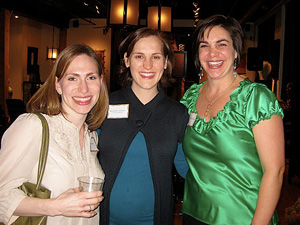 Eve Nagy, Meredith Dubner and Heather Wasilew