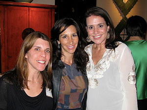 Roslin Guttentag, Jennifer Oppenheimer and Michelle Friedman