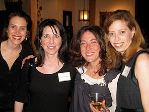 Dina Isaacs, Stephanie Ross, Ariel Derringer and Lori Goldberg