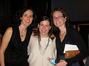 Lisa Goodman, with Laurie Goodman and Karen Leavitt