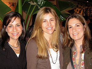 Susan Diamond Schwartz, Stephanie Sinder and Liz Brodsky
