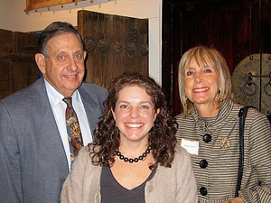 Ted Perlman, 2010 General Campaign Chairman, Betsey Nathan, owner of Pagoda Red and Merle Cohen