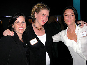 Tristin Goldberg, Lauren Coburn and Lisa Daitch