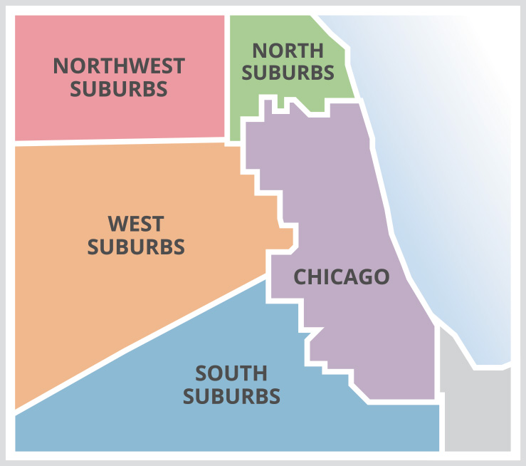 Northwest Chicago Map.Juf Right Start Early Childhood Programs Juf Young Families